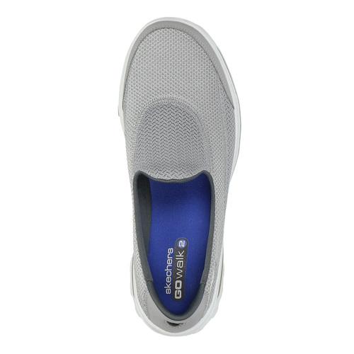 Slip-on sportive da donna skechers, grigio, 509-2708 - 19