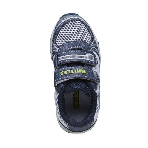 Sneakers Turtles da bambino, bianco, 319-9199 - 19