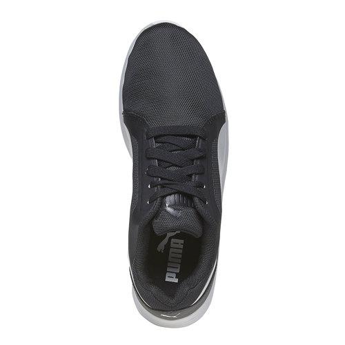 sneaker da donna puma, nero, 509-6695 - 19