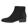 Scarpe di pelle alla caviglia bata, nero, 593-6522 - 19