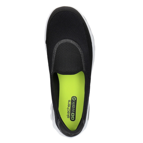 Slip-on sportive skechers, nero, 509-6708 - 19