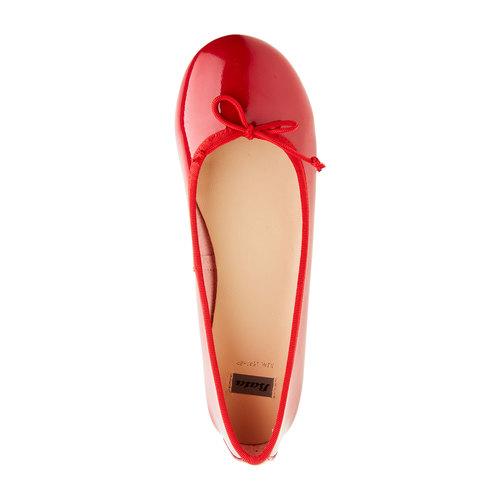 Ballerine rosse bata, rosso, 521-5144 - 19