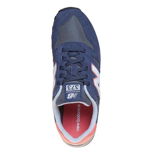 Sneakers da donna in pelle new-balance, blu, 503-9371 - 19