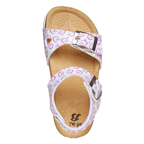 sandalo bimba mini-b, bianco, 261-1172 - 19