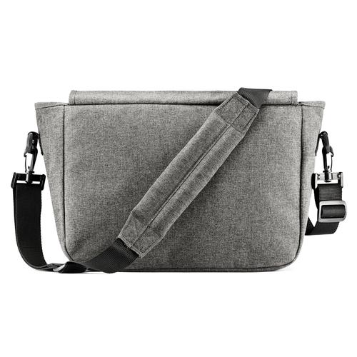 Borsa a tracolla in tessuto eastpack, grigio, 999-6651 - 26
