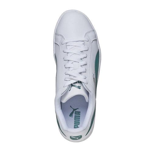 sneaker da uomo puma, bianco, 804-1251 - 19