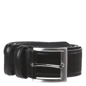 Cintura classica in pelle bata, nero, 954-6888 - 13