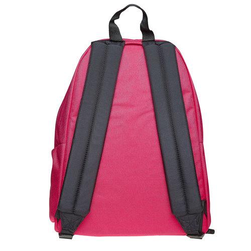 Zaino in tessuto di colore rosa eastpack, rosa, 999-5747 - 26