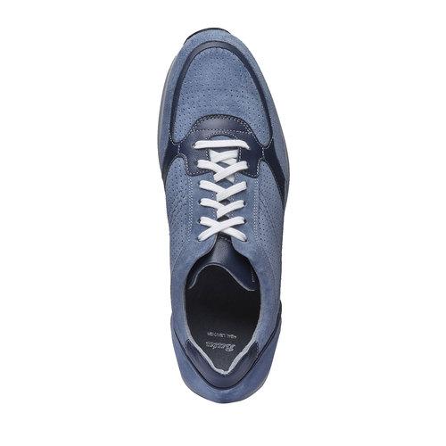 Sneakers da uomo in pelle bata, viola, 843-9645 - 19