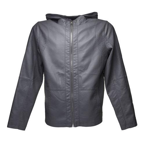 Giacca da uomo con cappuccio bata, grigio, 971-2161 - 13
