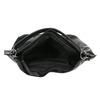 Borsetta nera in stile Hobo bata, nero, 961-6808 - 15