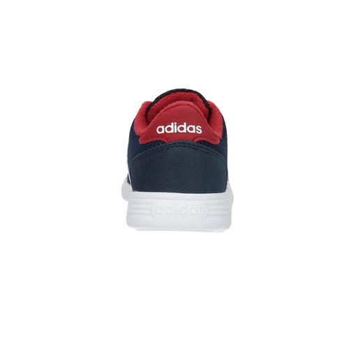 Sneaker da bambino dal design sportivo adidas, blu, 109-9141 - 17