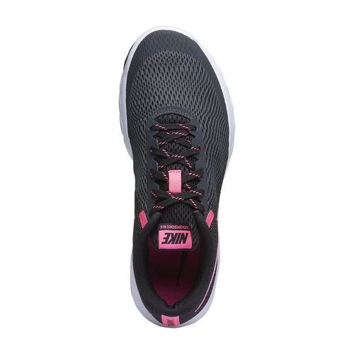 Sneakers da donna da corsa nike, grigio, 509-2324 - 19