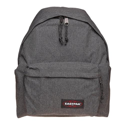Zaino in tessuto di colore grigio eastpack, nero, 999-6647 - 17