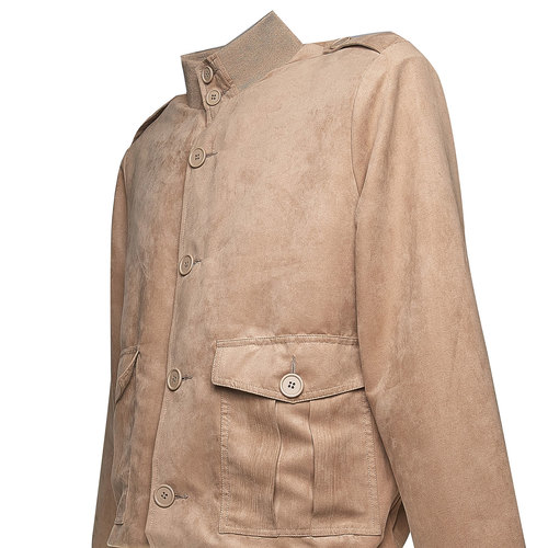 Giacca da uomo con bottoni bata, marrone, 979-3562 - 16