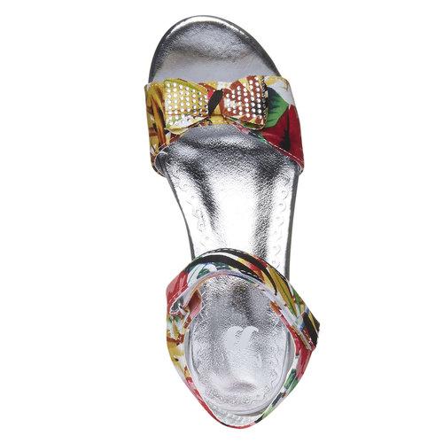 Sandali da bambina con plateau basso mini-b, 369-0176 - 19