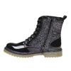 Scarpe sopra la caviglia da bambino con glitter mini-b, nero, 399-6253 - 19