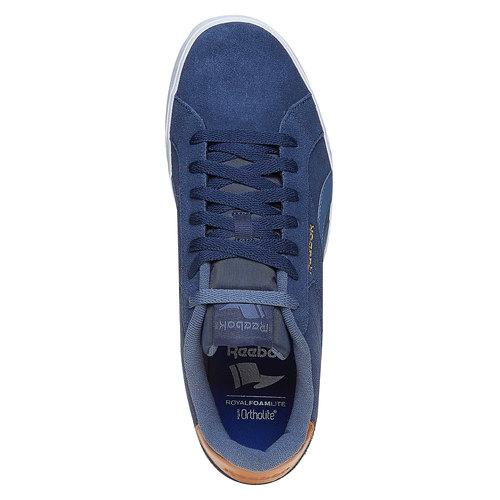 Sneakers in pelle da uomo reebok, blu, 803-9170 - 19