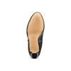 Stivaletti di pelle alla caviglia con plateau bata, nero, 794-6571 - 17