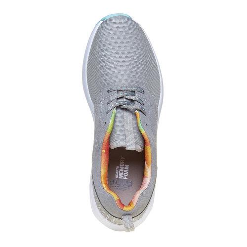 Sneakers da donna con suola ampia lotto, grigio, 509-2157 - 19