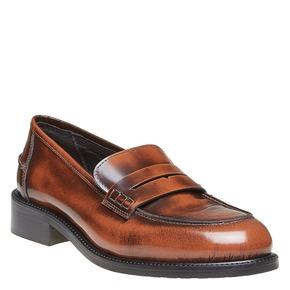 Penny Loafer di pelle bata, marrone, 514-4222 - 13