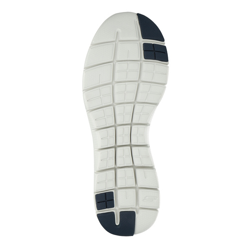 Sneakers grigie sportive da uomo skechers, grigio, 809-2349 - 26
