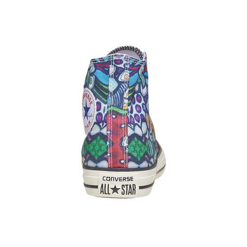 Sneakers alla caviglia con stampa colorata converse, 589-0316 - 17