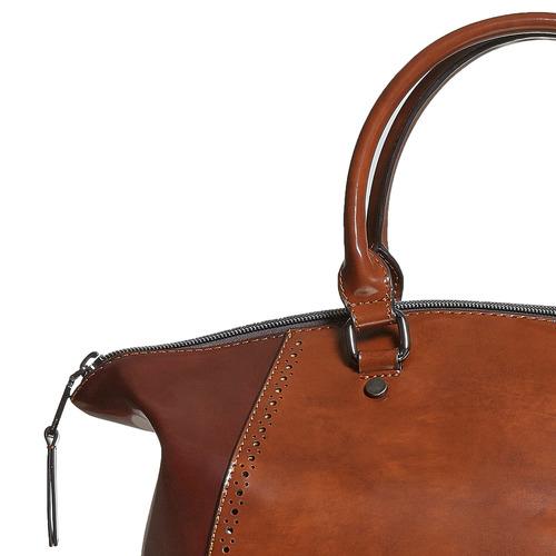 Borsetta da donna con cinghia rimovibile bata, marrone, 961-3120 - 17