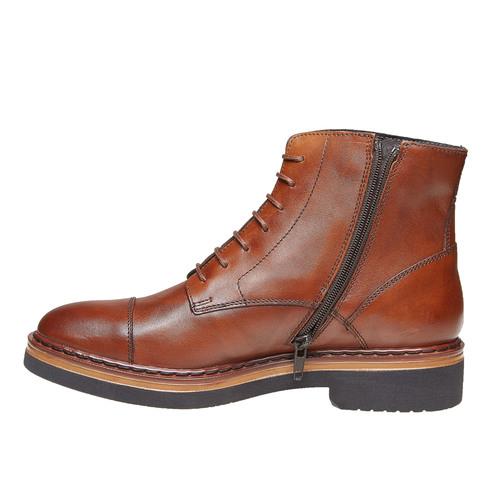 Scarpe da donna alla caviglia bata, marrone, 594-3108 - 19