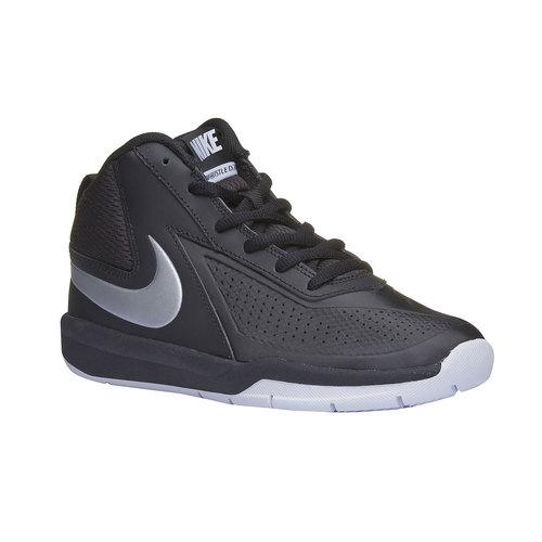Sneakers da bambino alla caviglia nike, nero, 401-6236 - 13