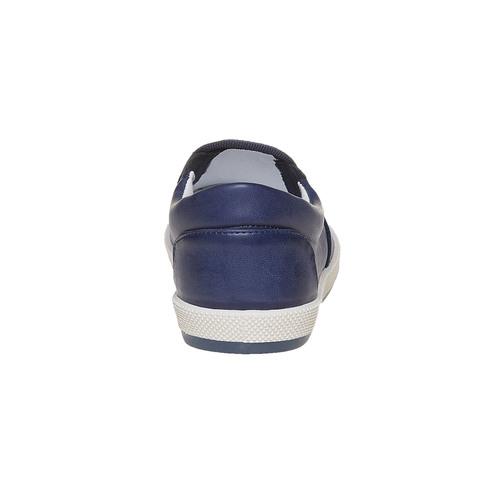 Scarpe da bambino in stile slip-on flexible, viola, 311-9240 - 17