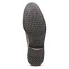 Scarpe basse casual di pelle bata, grigio, 823-2608 - 17