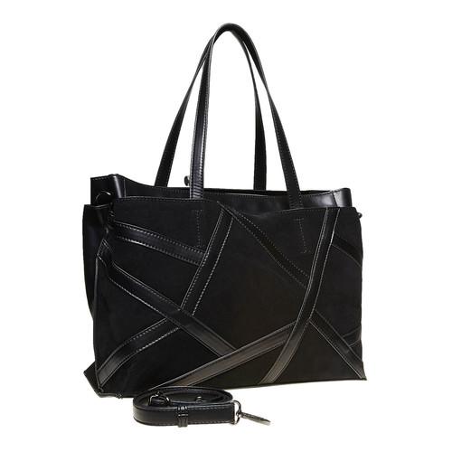 Borsetta con cinghia rimovibile bata, nero, 961-6738 - 13