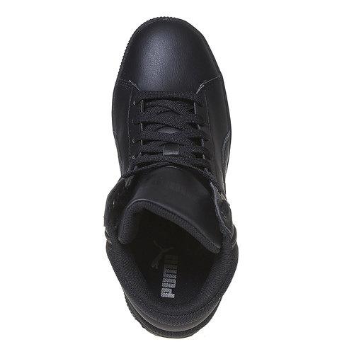 Sneakers da donna alla caviglia puma, nero, 501-6319 - 19