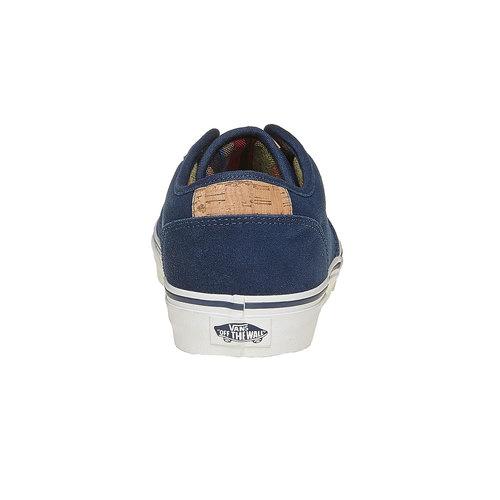 Sneakers da uomo in pelle vans, blu, 803-9304 - 17