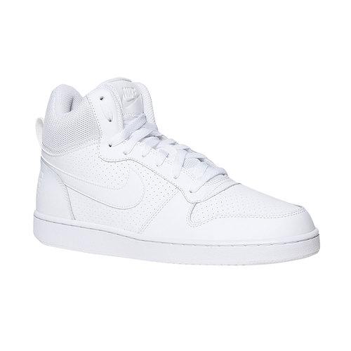 Sneakers bianche alla caviglia nike, bianco, 801-1332 - 13