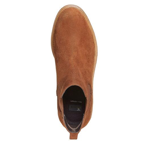 Scarpe da donna alla caviglia in stile Chelsea bata, marrone, 599-3556 - 16