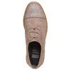 Scarpe basse da donna con strass bata, beige, 529-2282 - 19