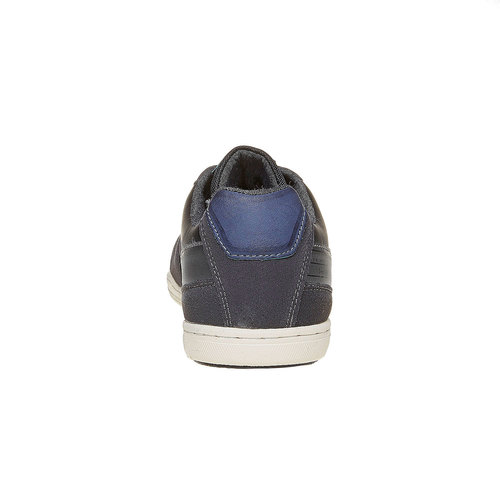 Sneakers da uomo bata, nero, 841-6212 - 17