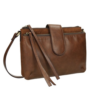 Borsetta marrone Crossbody da donna bata, marrone, 969-3458 - 13
