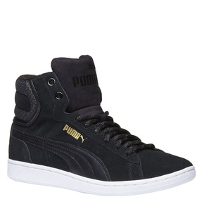 Calzatura sportiva puma, nero, 503-6318 - 13