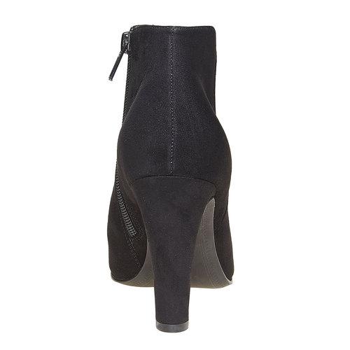 Scarpe alla caviglia con tacco alto bata, nero, 799-6527 - 17