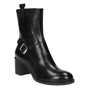Stivaletti da donna alla caviglia bata, nero, 694-6359 - 13