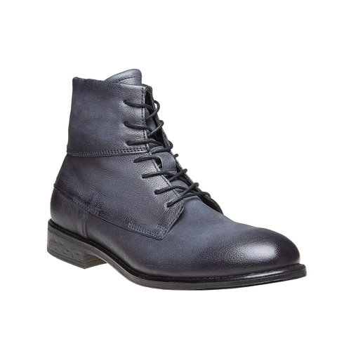 Scarpe da uomo in pelle alla caviglia bata, viola, 894-9483 - 13