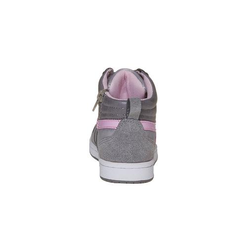 Sneakers eleganti da ragazza mini-b, grigio, 321-1222 - 17
