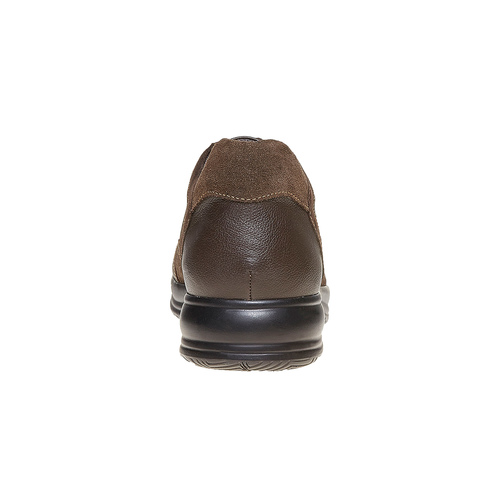Sneakers informali da uomo bata, marrone, 844-4214 - 17