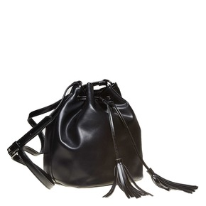 Borsetta in stile Bucket Bag bata, nero, 961-6884 - 13