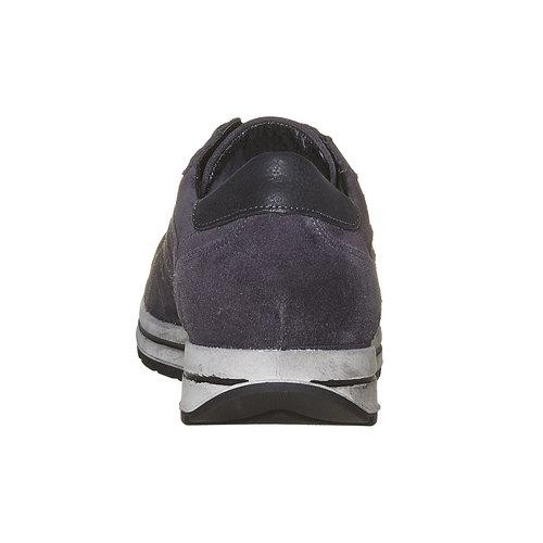 Sneakers eleganti in pelle bata, viola, 843-9685 - 17