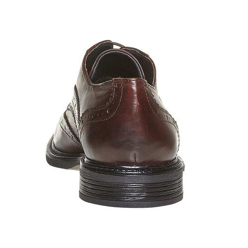Scarpe basse Derby da uomo in pelle, marrone, 824-4836 - 17