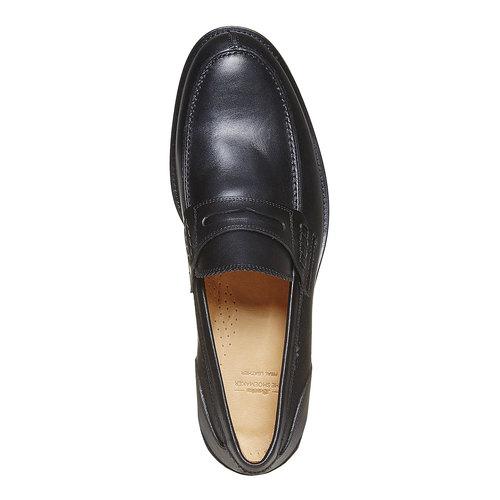 Mocassini in pelle da uomo bata-the-shoemaker, nero, 814-6160 - 19